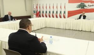 جعجع عرض وسفير مصر آخر المستجدات السياسية والاقتصادية