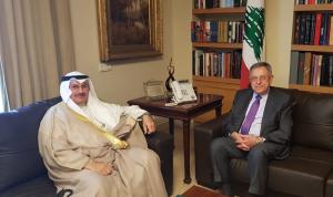 السنيورة عرض وسفير الكويت الأوضاع العامة والعلاقات الثنئية