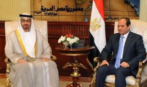 السيسي وبن زايد يبحثان مستجدات القضايا الإقليمية والدولية