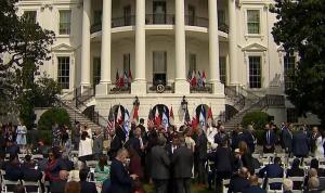 معاهدة السلام التاريخية… وصول الوفود إلى البيت الأبيض