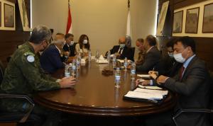 عكر: لمنع ووقف الهجرة غير الشرعية باتجاه قبرص