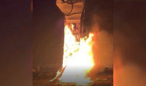 توقيف 4 أشخاص ممن أحرقوا قبضة الثورة في ساحة الشهداء