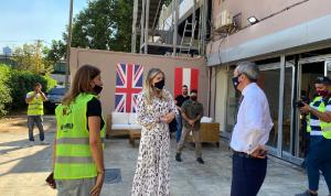 سفير بريطانيا التقى يعقوبيان: مع اللبنانيين في هذه الأوقات العصيبة