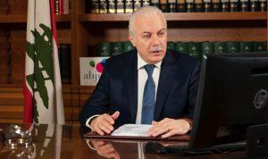 عبود: لتعزيز استقلالية السلطة القضائية واستعادة الأموال المنهوبة