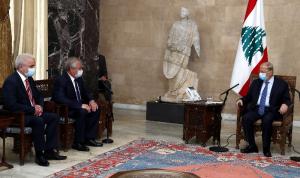 عون للوفد الروسي: لبنان لم يعد قادرًا على تحمّل تداعيات النزوح السوري