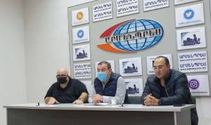 """إعلاميون لبنانيون في قره باغ """"هم الأكثر تفهّمًا"""" لمعاناة الأرمن"""