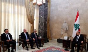 """كتلة نواب الأرمن تسمي الحريري: """"بعد غياب خيارات أخرى"""""""