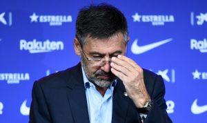 استقالة رئيس نادي برشلونة
