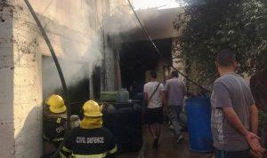 في مخيم البداوي… انفجار قارورة غاز وسقوط 3 جرحى!