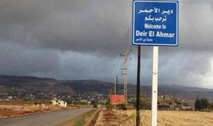خضر: استمرار إقفال دير الأحمر لأسبوع