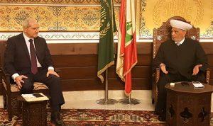 خلف من دار الفتوى: خطة وطنية متكاملة لاعادة تشكيل السلطة وانقاذ الوطن