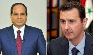 تواصل مصري- سوري لاعادة دمشق للحضن العربي