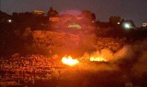 حريق في بقاعصفرين وجهود لإخماده