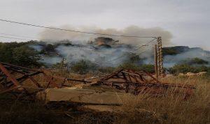 حريق كبير في المتن… سامي الجميل: ننتظر طوافات الجيش