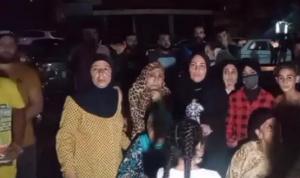 اعتصام لأهالي حوش العبيد احتجاجًا على الوضع المتردي