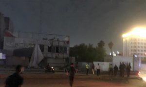 انفجار عبوة ناسفة في محل لبيع المشروبات الكحولية في بغداد
