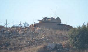 آليتان إسرائيليتان تجاوزتا السياج التقني في ميس الجبل