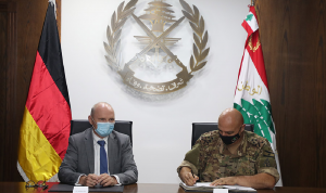 بين الجيش وألمانيا… توقيع بروتوكول لإعادة إعمار قاعدة بيروت البحرية