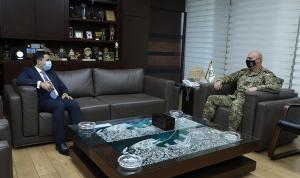 قائد الجيش التقى النائب الأول لحاكم مصرف لبنان