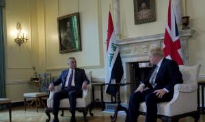 رئيس الحكومة العراقي التقى نظيره البريطاني