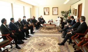 """وفد من """"القوات"""" زار سفارة الكويت معزيًا: خسر لبنان صديقًا كبيرًا"""