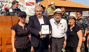 تكريم أهالي شهداء فوج إطفاء بيروت في جونية