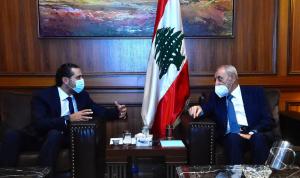 اجتماع بين بري والحريري في مجلس النواب
