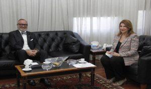 التعاون الثنائي بين نجم وسفيري اليابان وبلجيكا