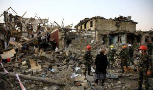 أذربيجان: ارتفاع عدد الضحايا بين المدنيين إلى 91 قتيلا