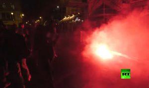 إغلاق شامل في باريس واحتجاجات ضد قيود مكافحة كورونا