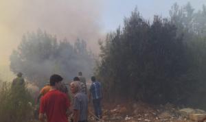 حريق كبير في رحبة… ومناشدات للتدخل