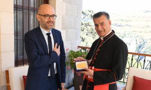 نائب فرنسي زار الراعي: ندعم الدعوة إلى حياد لبنان