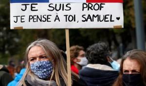 القضاء الفرنسي يحقق مع 7 أشخاص في جريمة قتل المعلم