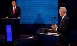 المناظرة الأخيرة.. ترامب: إدارة بايدن عملت على صعود إيران!