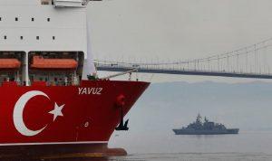 تركيا تسحب سفينة التنقيب قبالة السواحل القبرصية