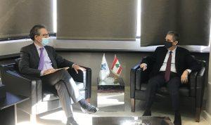 وزني التقى وزيرًا فرنسيًا: لمتابعة الإصلاحات