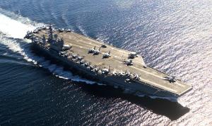 """البنتاغون يأمر بإعادة تحريك حاملة الطائرات """"نيميتز"""" إلى داخل الخليج"""