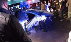 قتيل في حادث سير عند حاجز مفاجئ في زوق مكايل