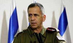 رئيس الأركان الإسرائيلي في الحجر الصحي