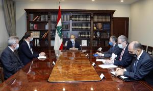 عون: التدقيق الجنائي خطوة مهمة لمستقبل لبنان