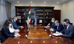مفاوضات الترسيم بين عون وكوبيتش