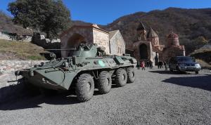 تنفيذًا للاتفاق… أذربيجان تدخل إلى منطقة كالباجار