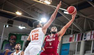 لبنان يتأهل لنهائيات بطولة آسيا في كرة السلة