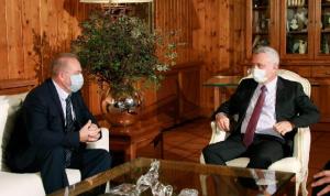 فرنجية عرض وسفير روسيا الجديد التطورات الراهنة