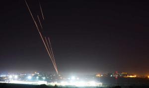 إطلاق صاروخ من غزة نحو إسرائيل