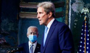كيري: من الصواب العودة إلى اتفاق باريس للمناخ لكنه غير كاف