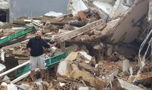 انهيار سقف مبنى في صور… هل من إصابات؟
