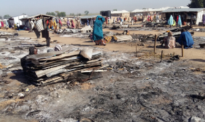 40 قتيلًا في هجوم شنّه مسلّحون شمال شرقي نيجيريا
