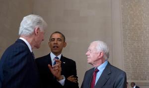 أوباما وكلينتون وكارتر يهنئون بايدن بالفوز