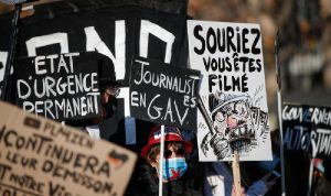 احتجاجات في باريس: شغب وحرائق وقنابل مسيلة للدموع
